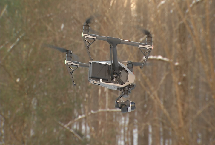 The pilots of SkyTeam will follow strict protocols when using the drone. (WCHS/WVAH)