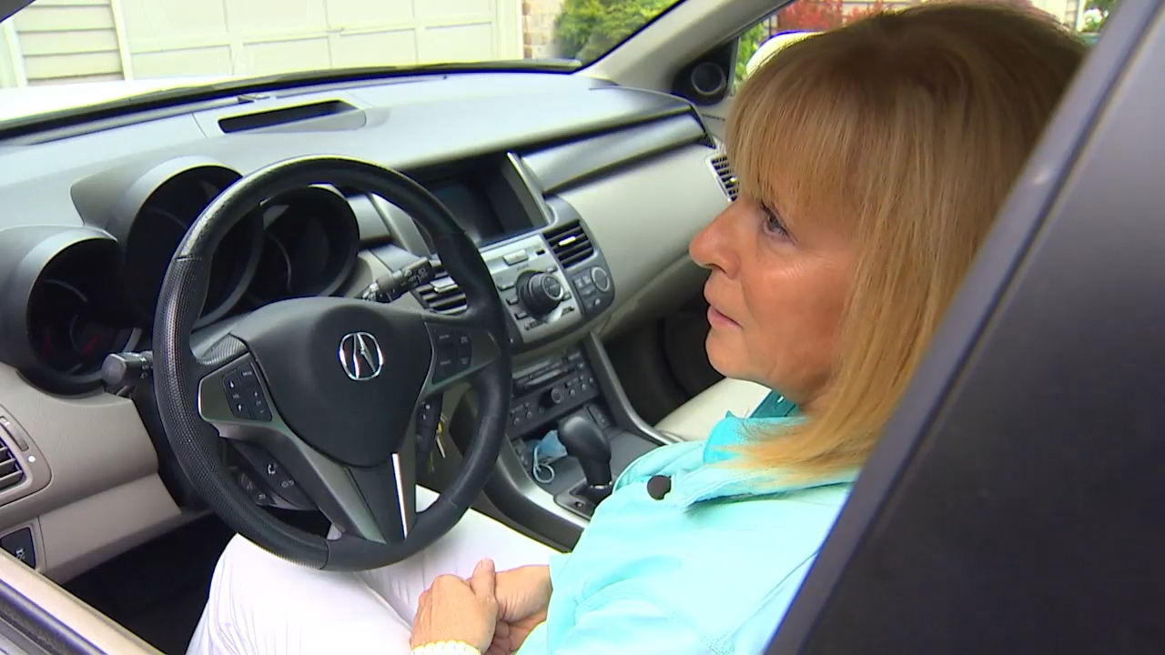 Sue McNeely hasn't driven a car since Feb. 10, when she suffered a stroke while driving on I-405. A State Trooper helped guide her car to a stop and medics quickly rushed her to Harborview Medical Center in Seattle. (Photo: KOMO News)