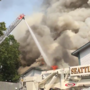 Watch: Firefighters battle 3-alarm blaze at North Seattle apartment