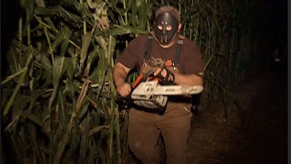 Lone Pine Farm Haunted Corn Maze | FILE VIDEO | KVAL