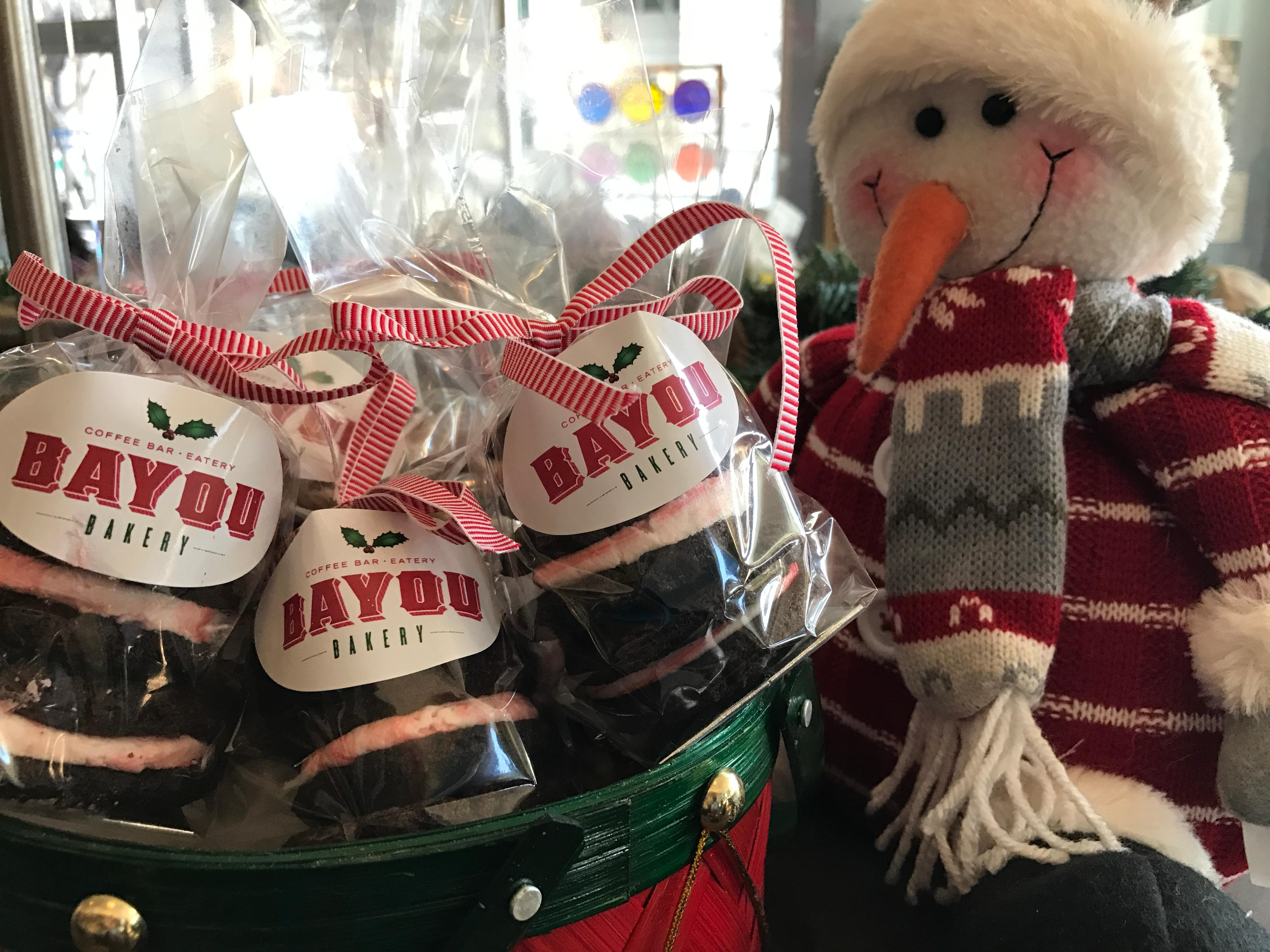Sweet Stocking Stuffers from Bayou Bakery // Price: $5-$8 each // Buy at the bakery // www.bayoubakerydc.com // (Image: Bayou Bakery)<p></p>