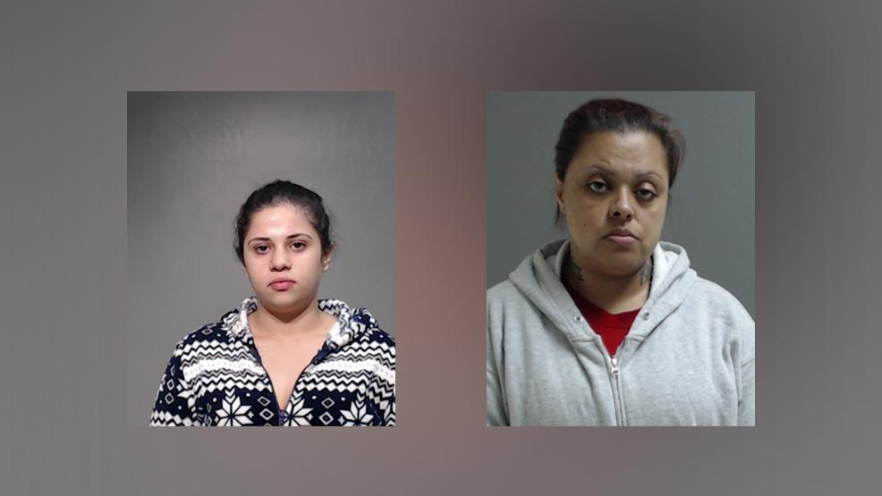 Alexia Bermea, 20, of Sullivan City (left) and Veronica Guadalupe Salinas, 35, of Sullivan City (right) are charged with bringing in and harboring aliens. (Photos courtesy of the Hidalgo County Sheriff's Office)