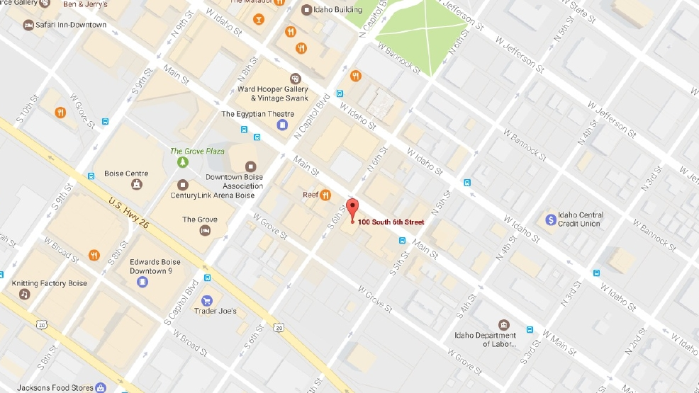 Two people stabbed in downtown Boise near 6th and Main, one suspect ...
