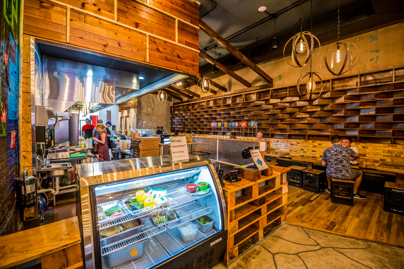 Mazunte Centro is the latest addition to the Mazunte Mexican restaurant brand in the area. The downtown eatery offers the same Mazunte flavor with a little twist and some new items. The menu features tacos, tostadas, tortas (hot-pressed Mexican sandwiches), and tlayudas (big, crunchy tortillas covered in toppings, much like a taco pizza). It has a much more grab and go feel for people on the move, but offers dine-in seating, too. ADDRESS: 611 Main Street (45202) / Image: Catherine Viox // Published: 8.31.19