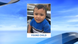 Police: Child's family has been located