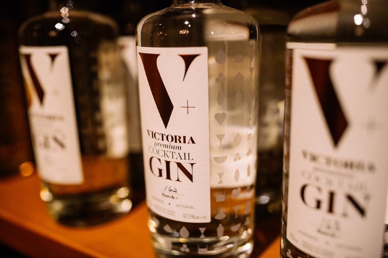 "We visited Victoria Distillers on our most recent trip, one of Canada's oldest, small-batch spirits companies, and were blown away by the dedicated to ""liquid bar tools"". (Image: Joshua Lewis / Seattle Refined)"