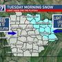 Winter weather advisory issued for Cumberland Plateau, morning snow possible