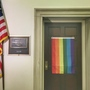 Man sues members of Congress for flying rainbow flag outside of office