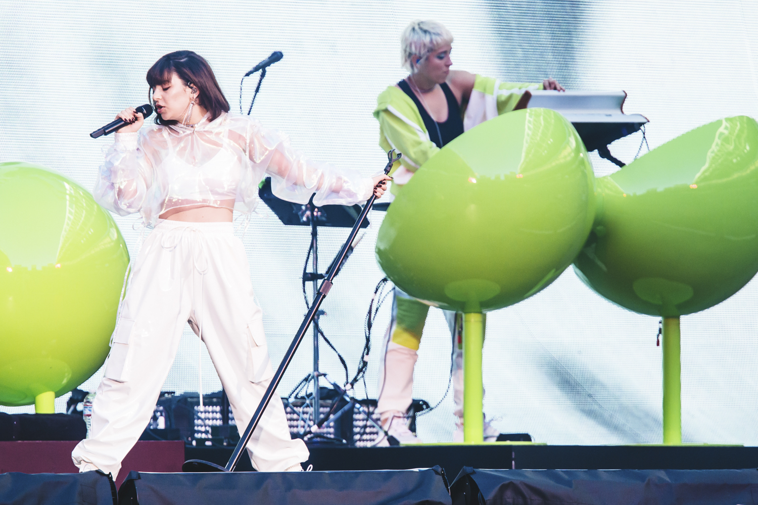 "Charlie XCX opened up for Taylor Swift tonight (May 22). Swift brought her ""Reputation"" tour to CenturyLink. Over 60,000 people were expected to be in and around the SoDo area in Seattle. Despite the traffic, it was everything we could have ever imagined! (Image: Sunita Martini / Seattle Refined)"