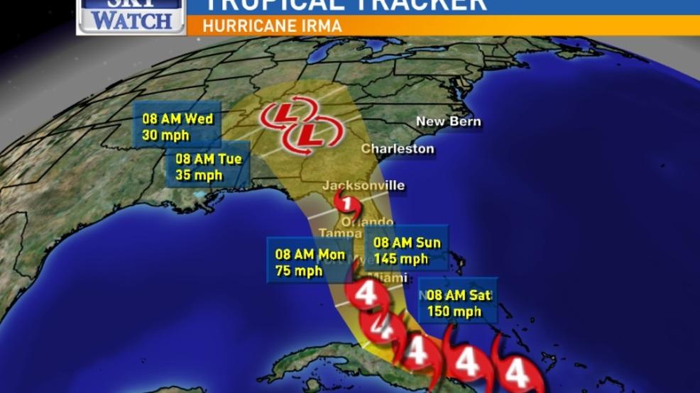 Georgia Prepares For Irma S Impact Wlos