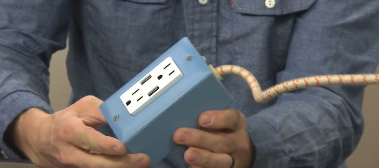 Tech Report: The Exto USB. (Photo: KUTV)