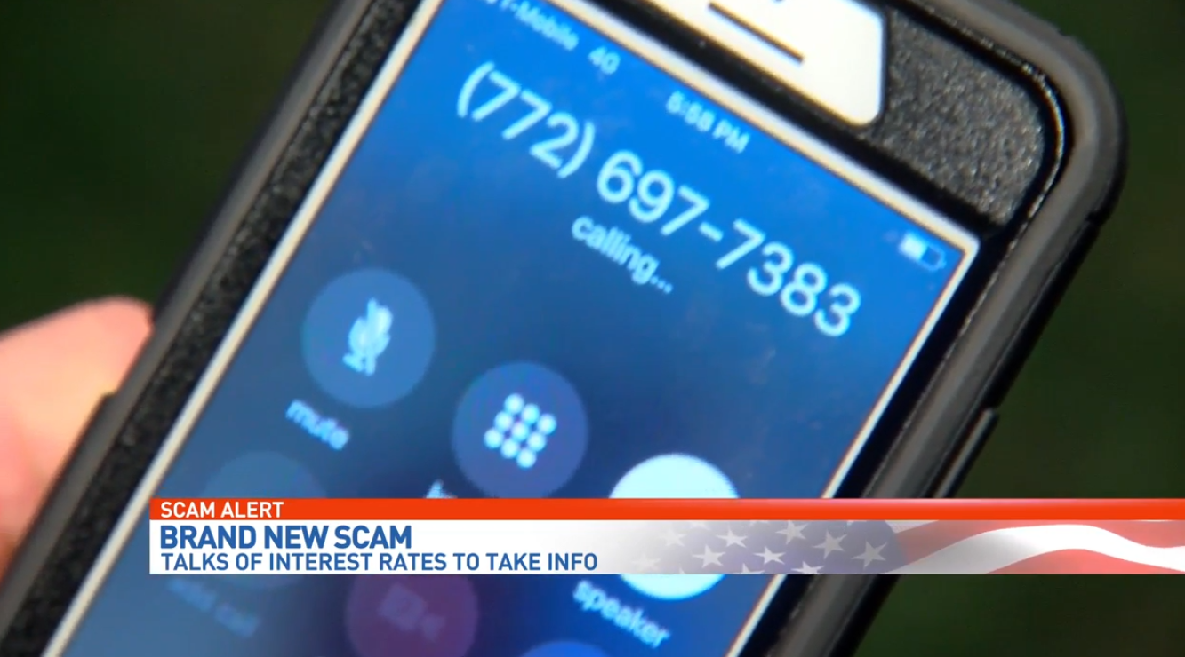 A scam so new, law enforcement and the BBB haven't seen it. (WPEC)