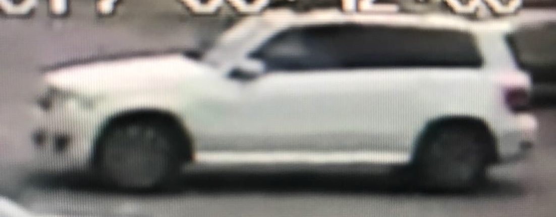 Surveillance photo of suspect's vehicle. (Conway Police)
