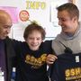 186 School officers surprise a student facing hardships
