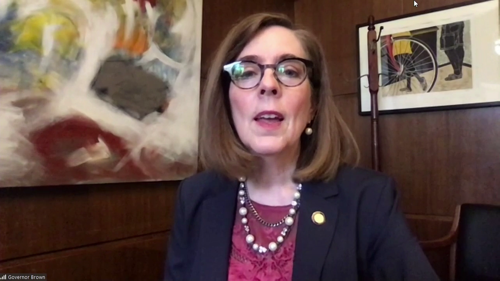 Gov. Kate Brown to address planned Proud Boys rally, counter protests in Portland