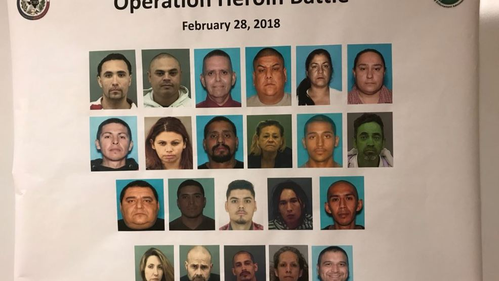 Multiple arrests made in ongoing drug trafficking