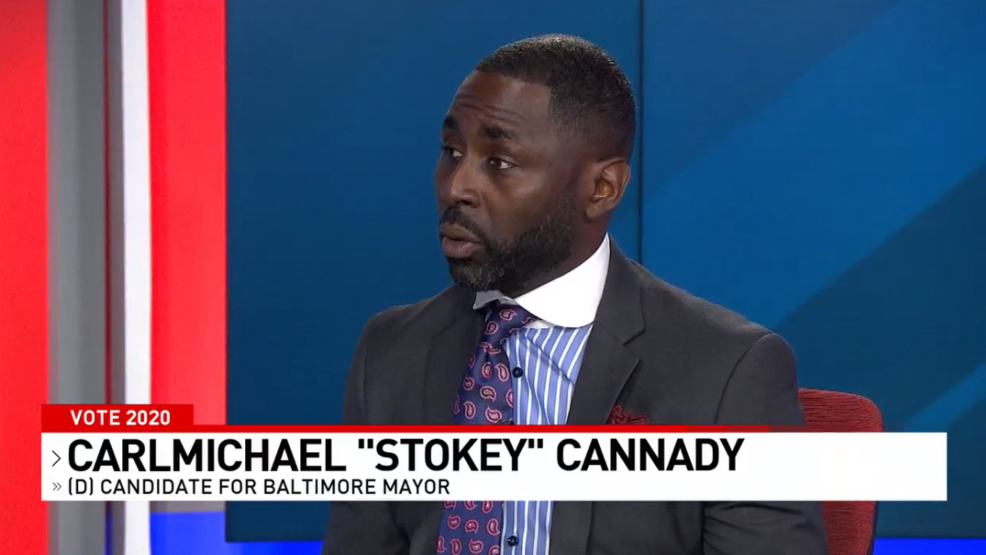 "Baltimore Mayoral Candidate Carlmichael ""Stokey"" Cannady"