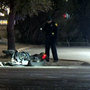 Driver checking damage to his car hit, killed by passing motorcyclist, say police