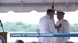 Hundreds gather for USCG change of command