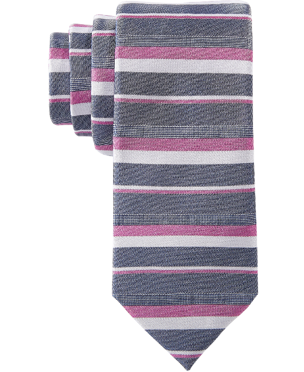Bar III Men's Hoffman Stripe Skinny Tie // Price: $55 // (Image: Macy's)<p></p>