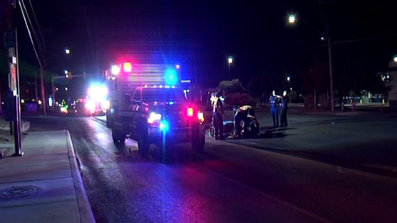 Woman hit by car, found in middle of street (Photo:  SBG San Antonio)