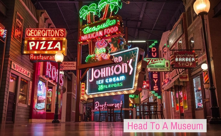 Visit the American Sign Museum in Camp Washington / Other options: CAC, CAM, Freedom Center, Union Terminal, Lucky Cat Museum / Image: Phil Armstrong, Cincinnati Refined // Published: 12.26.17<p></p>
