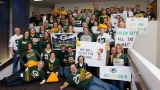 Atlanta Georgia-Pacific employees challenge Green Bay employees ahead of Sunday's game