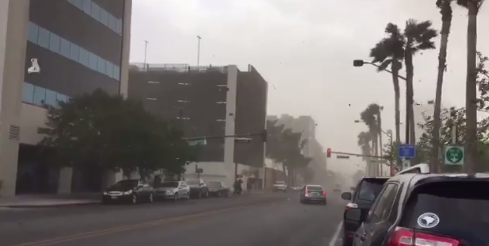 Downtown Las Vegas near the Regional Justice Center (Denise Rosch | KSNV)