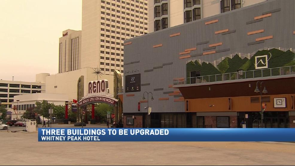 Whitney Peak Announces Plan To Upgrade Three Buildings In Downtown Reno