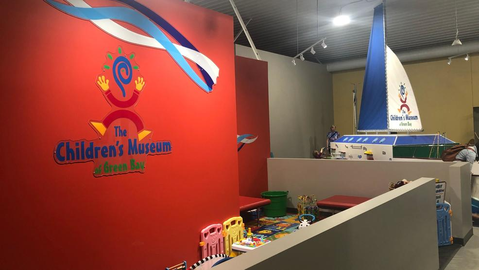 Members of the Children's Museum of Green Bay get a sneak peek at the new location