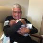 New grandpa and mother have frightening coincidence at hospital