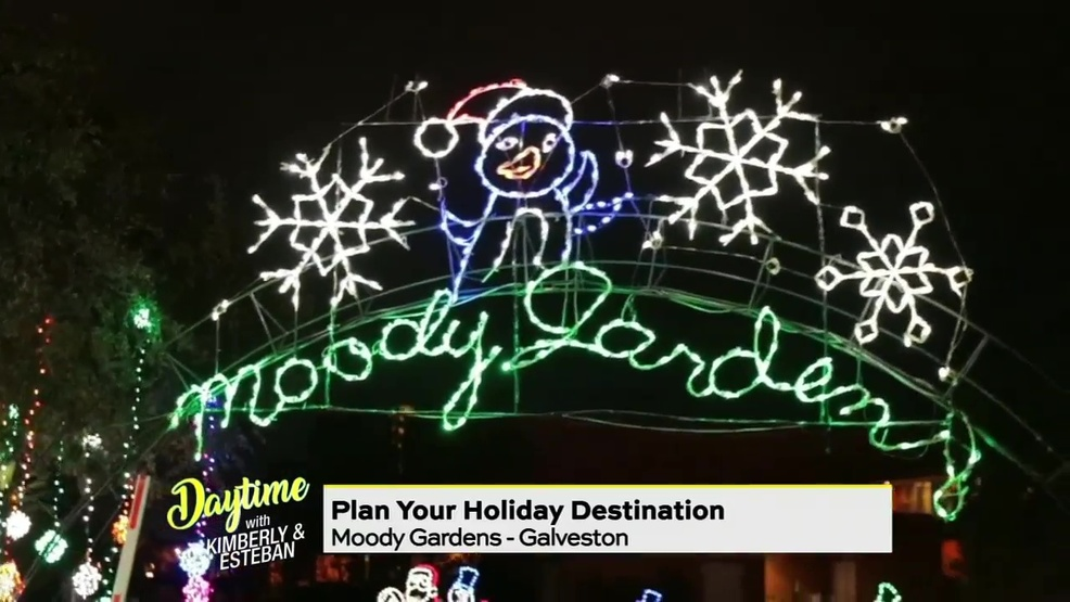 Moody Gardens Christmas.Enter Our Huge Moody Gardens Giveaway Watch Daytime