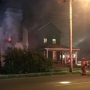Firefighters battle house fire on Dayton's east side