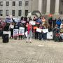 Students rally across West Virginia for gun reform