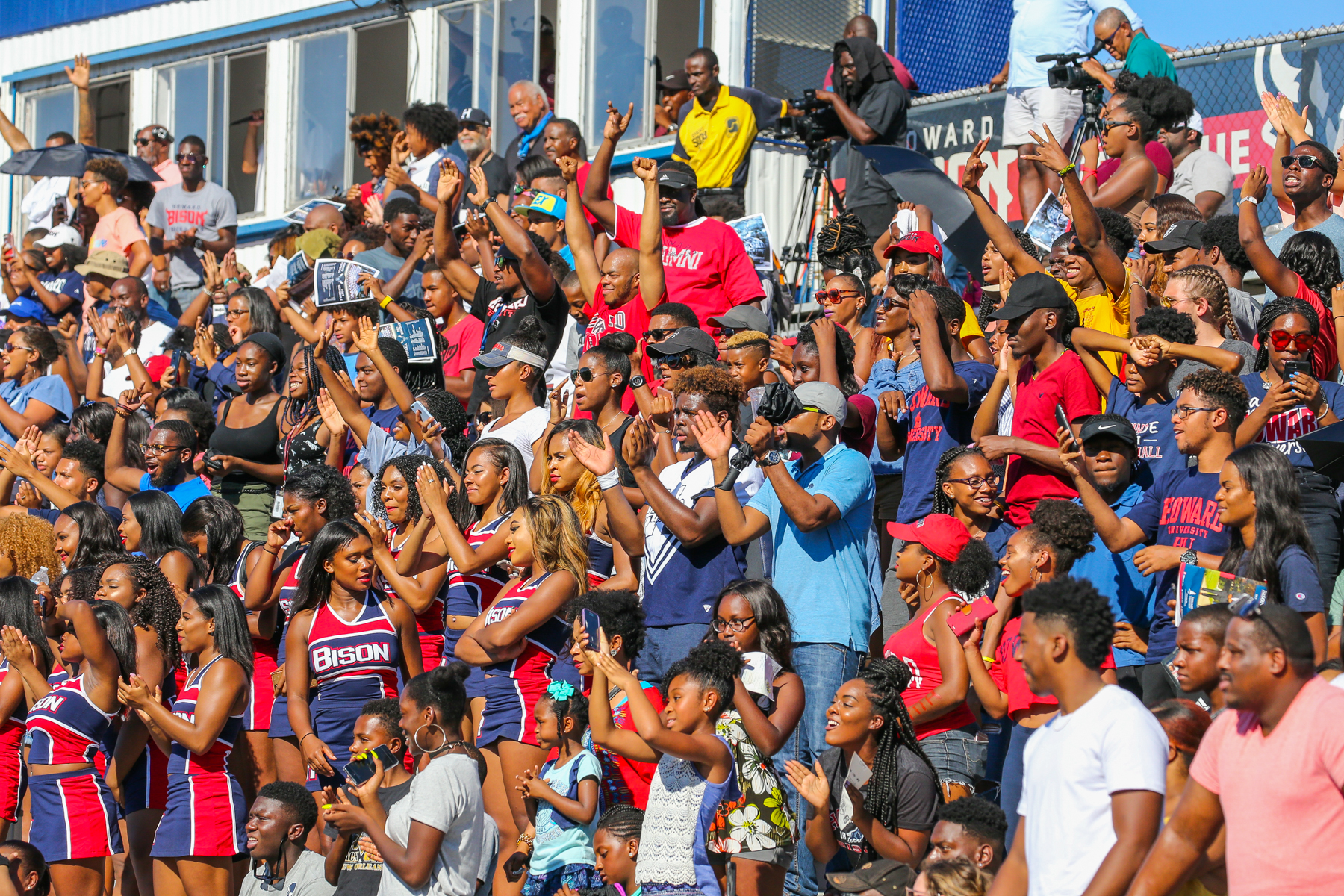 This year the Bison take on South Carolina State at William H. Greene Stadium. (Image: Courtesy Howard University)