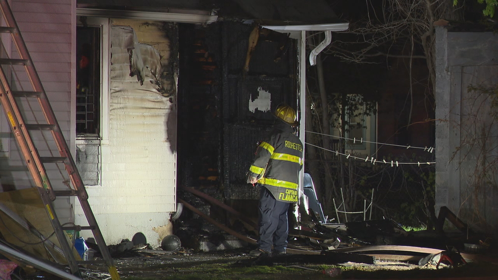 No one home at time of Rochester house fire   WHAM