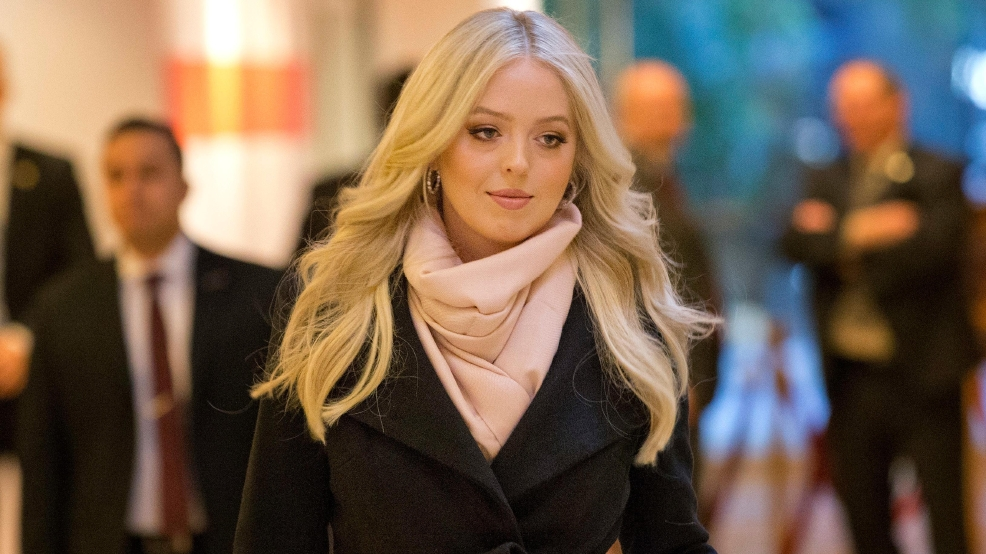 Tiffany Trump, daughter of President-elect Donald Trump, walks through ...