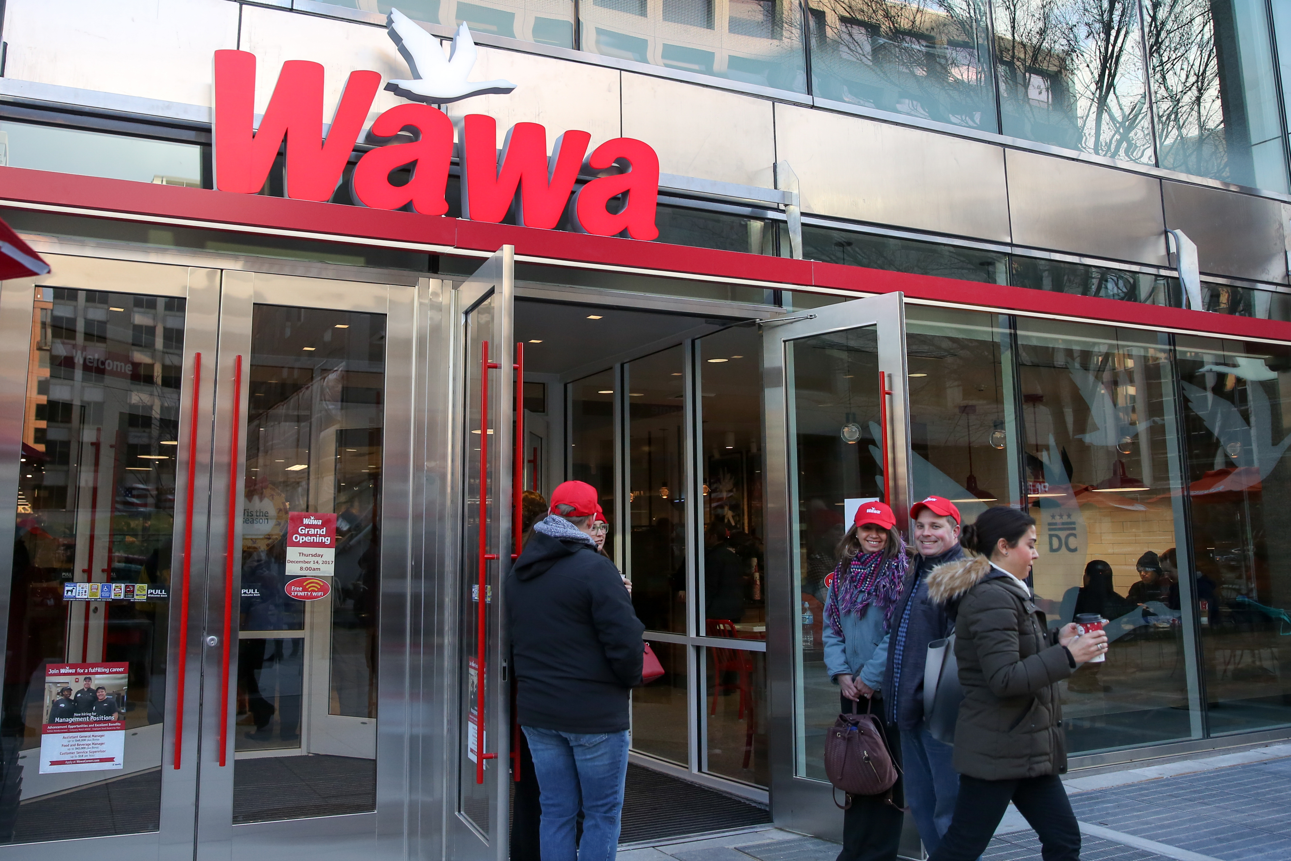 According to a press release, delivery favorites so far include Wawa macaroni and cheese, hoagies, soups and sides. (Image: Amanda Andrade-Rhoades/ DC Refined)