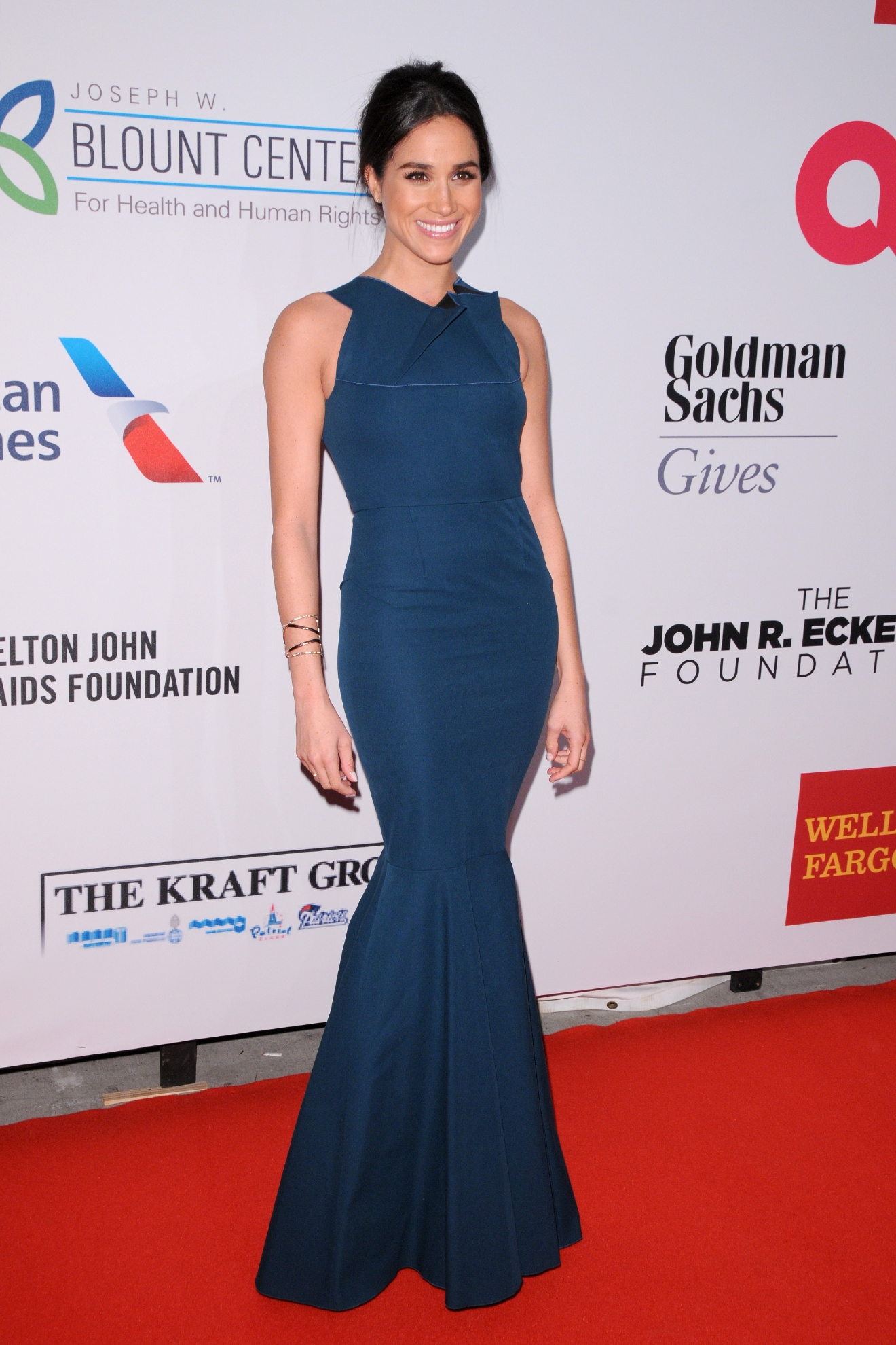 Elton John AIDS Foundation's 13th Annual An Enduring Vision Benefit - Red Carpet Arrivals  Featuring: Meghan Markle Where: New York City, New York, United States When: 29 Oct 2014 Credit: Ivan Nikolov/WENN.com
