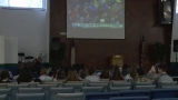 Conway Christian students watch inauguration to learn about importance of democracy