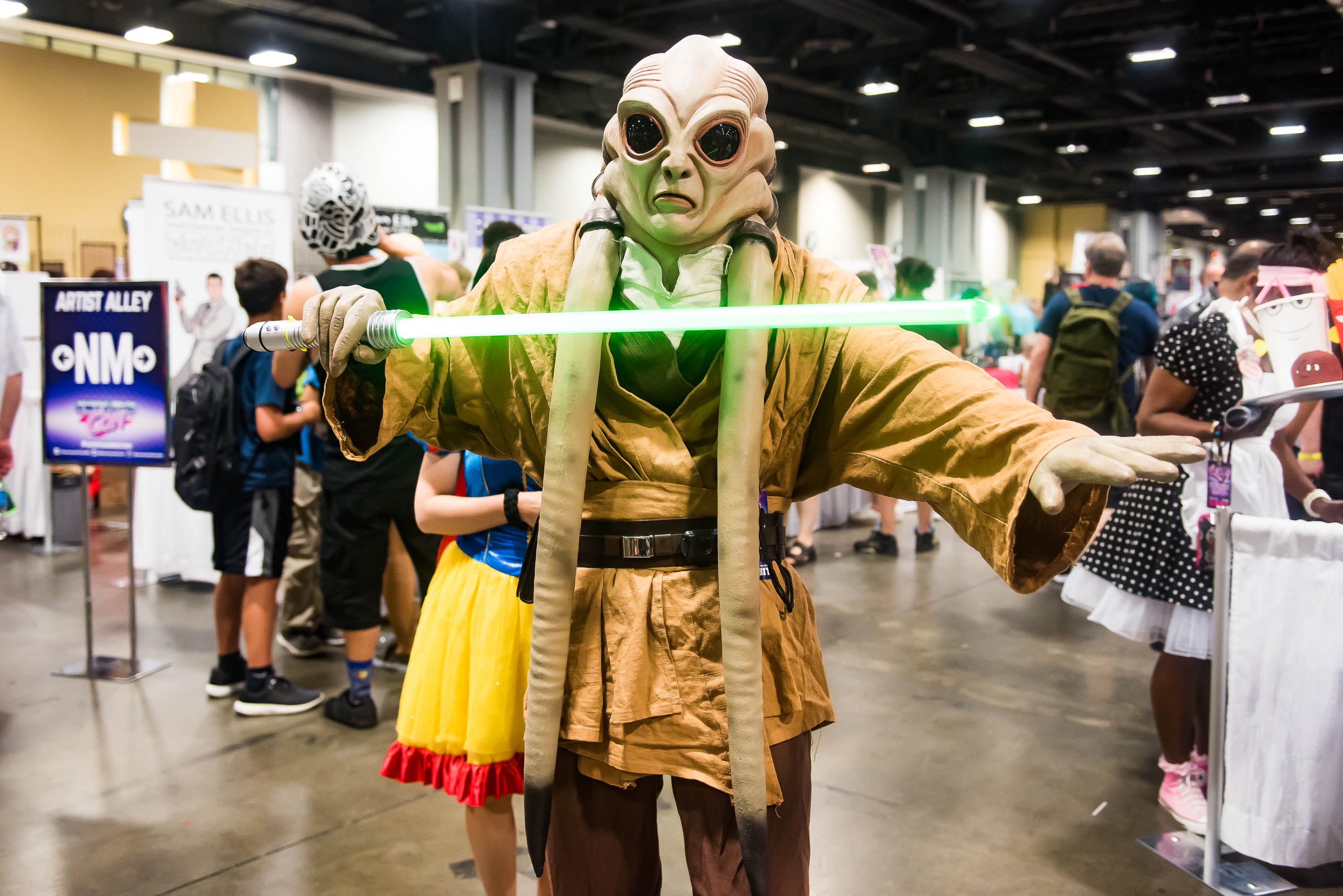 Nerds and geeks alike joined forces at Awesome Con, a three-day event celebrating all forms of pop culture, and just about all of them came in costume. Here are our favorite cosplays of 2017, from the funny to the extraordinary. (Image: Joy Asico/www.asicophoto.com)