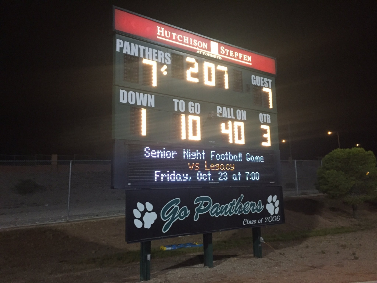 Operation Football 8/26/16: Palo Verde Panthers take on the Las Vegas Wildcats (Chad Graves | KSNV)