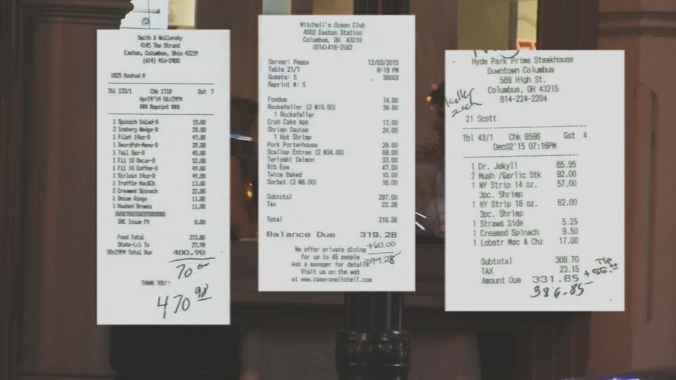 Costly expense receipts (WSYX/WTTE)