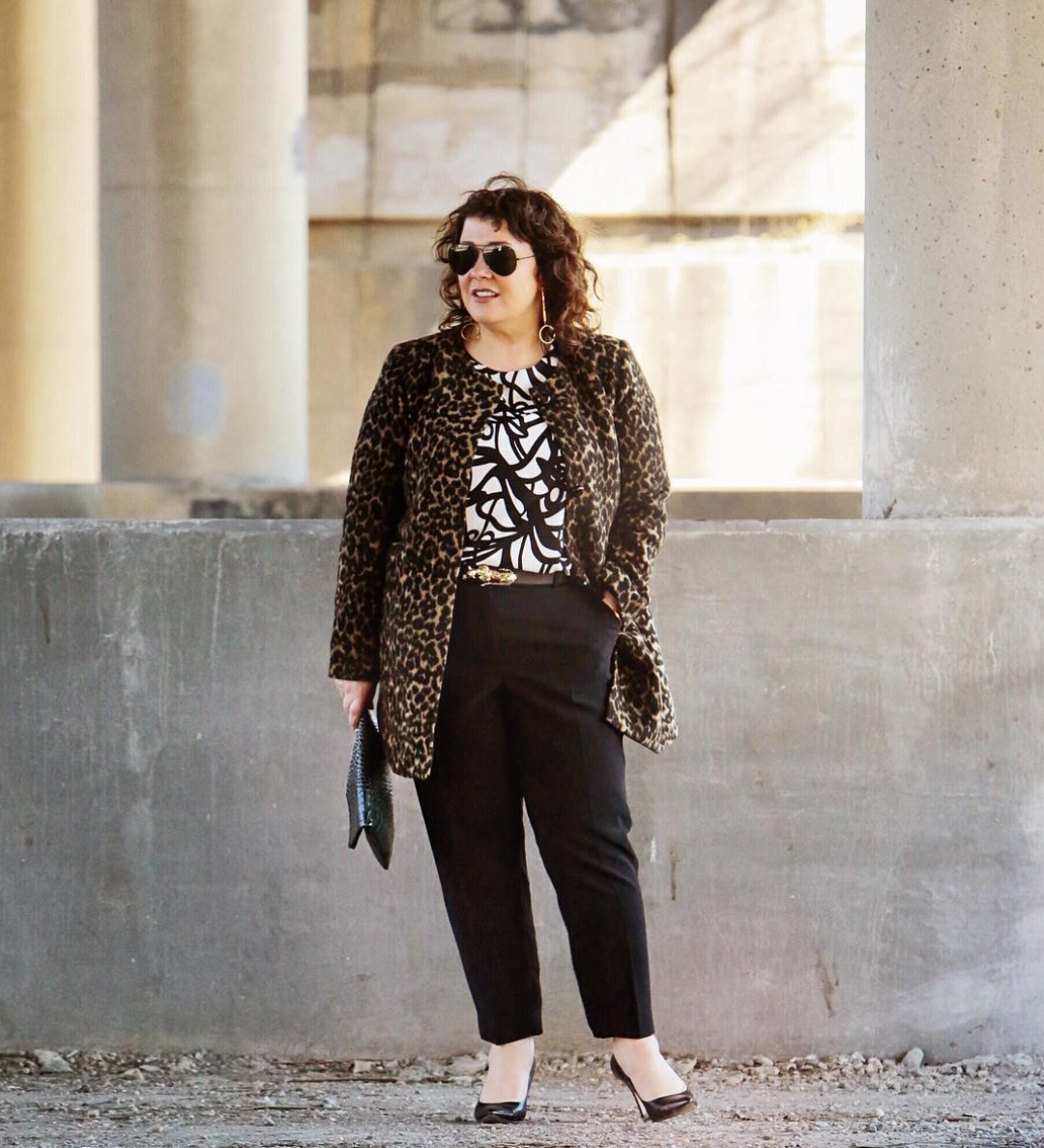 FYI, cheetah print is also blowing up! (Image via @wardrobe_oxygen)