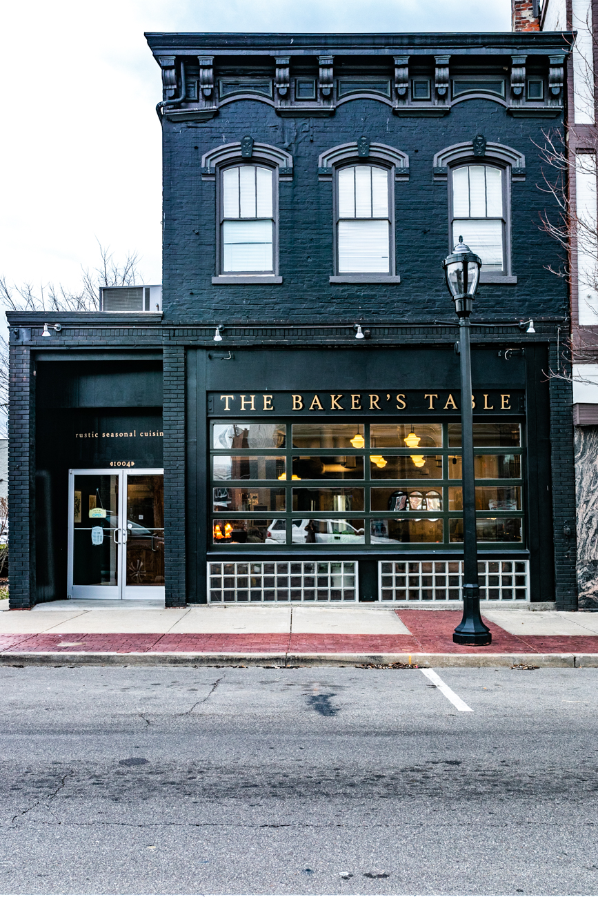 The Baker's Table is a warm, inviting brunch and bar spot that is full of character. Co-owner Wendy Braun wanted to make the space community-focused by providing a variety of areas that includes a comfy coffee lounge, a vintage bar with specialty cocktails, a rustic dining area with locally sourced dishes, and a separate space for patrons to hang out or host get-togethers. ADDRESS: 1004 Monmouth Street (41071) / Image: Amy Elisabeth Spasoff // Published: 3.14.19