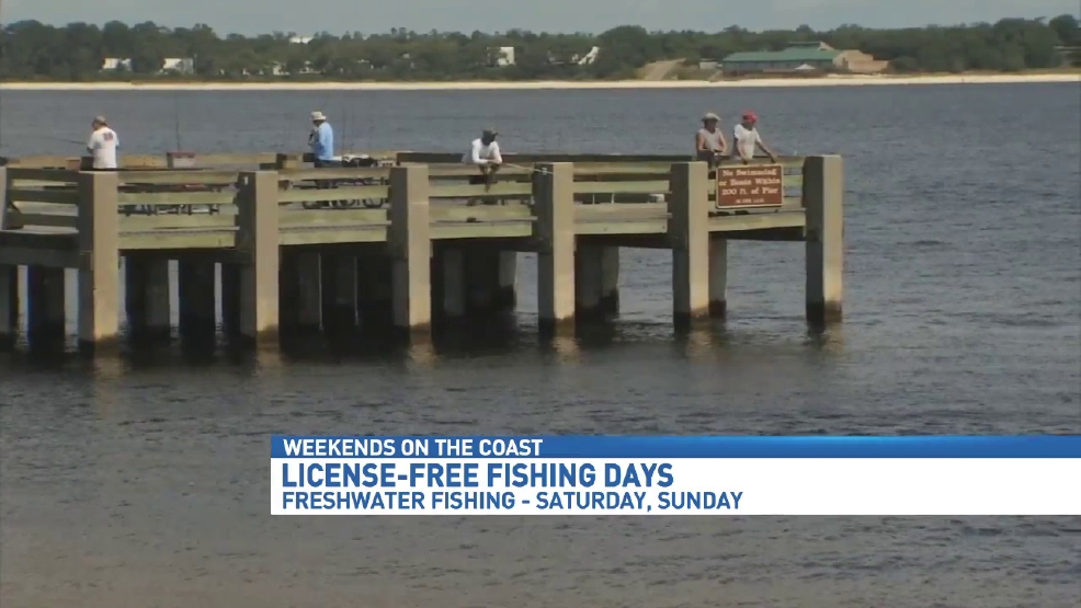 License free fishing in effect this weekend wear for Florida 3 day fishing license