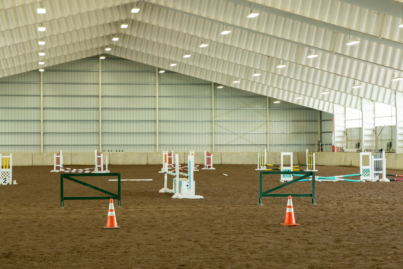 The facility is an official United States Pony Club Riding Center, which is an organization dedicated to horse-related activities and management of the animal. They have over 600 clubs throughout the country with thousands of youth members and volunteers involved. / Image: Elizabeth A. Lowry // Published: 8.3.19