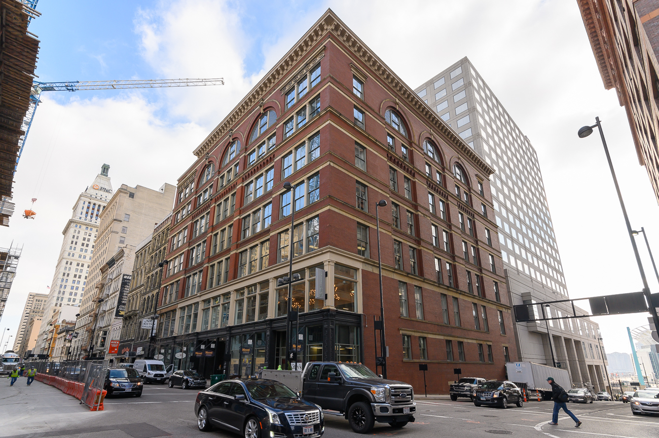 Chicago-based Novel Coworking began turning Cincinnati's Hooper Building into a seven-story suite of private and communal office space in 2018. Today, the building's filled with both large and small businesses that make daily use of its central location downtown, various amenities, and high-speed internet. Novel offers single-occupancy offices, larger multi-person offices, and full private suites that range in price depending on size. True to its name, Novel also has open coworking space accessible through a monthly membership. ADDRESS: 151 W 4th Street (45202) / Image: Phil Armstrong, Cincinnati Refined // Published: 2.11.20