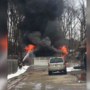 Crews battle St. Joseph County garage fire