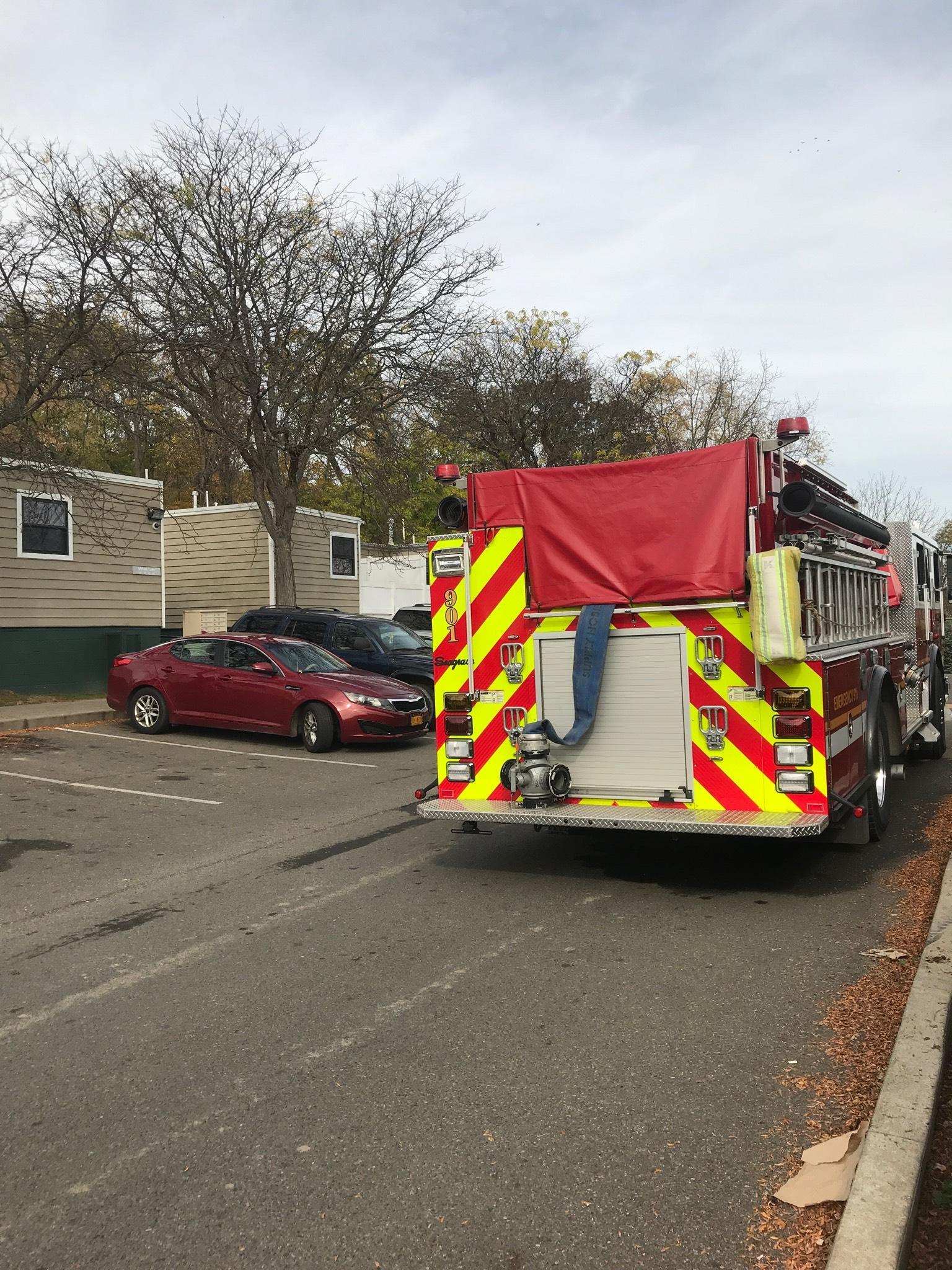 Crews are investigating fire in Ithaca